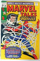 Marvel Tales #20 Spider-Man Marvel Comics Stan Lee Steve Ditko Jack Kirby F+