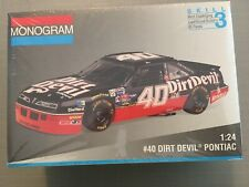 1994 Monogram #40 Kenny Wallace Dirt Devil Pontiac - NASCAR1/24 Model Kit