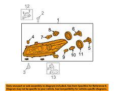 HONDA OEM 08-10 Accord-Headlight Assembly 33100TE0A01