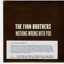 (EM712) The Finn Brothers, Nothing Wrong With You - 2004 DJ CD