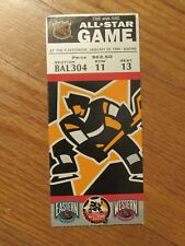46th ALL STAR GAME January 20, 1996 Ticket at Fleetcenter BOSTON RAY BOURQUE MVP