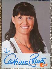 """Corinna Binzer, ZDF Karte """"Herzflimmern - Klinik am See"""" (2. Kartenserie)"""
