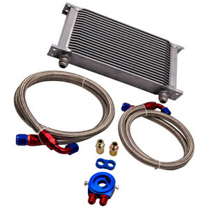 19 Row 10AN Engine Transmission Oil Cooler Filter Relocatation kits for Buick