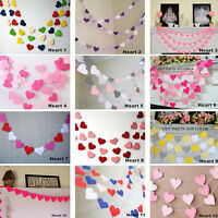 Bunting Banner Garland Wedding Baby Shower  Birthday Christmas Decor ./