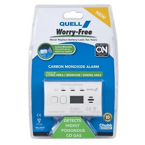 Quell Worry-Free Carbon Monoxide Alarm/Digital display recalls the highest secur