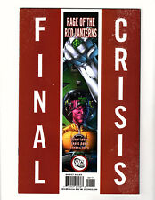 """Final Crisis: Rage of the Red Lanterns #1 (2008, DC) VF Cover """"A"""" Atrocitus"""