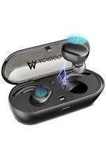 Wireless Bluetooth V5.0 Touch Two Waterproof Sport Earphone Latest Model ACADGQ