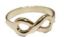 Infinite Ring 18k Gold Plated Ring - Infinito Ring Enchape de Oro