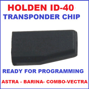 Transponder Chip Suitable for Holden Astra Barina Combo Vectra 1998 to 2005 ID40