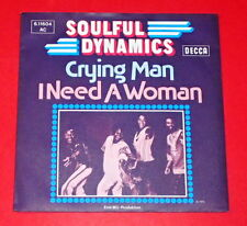 Soulful Dynamics - Crying man & I need a woman -- Single / Pop