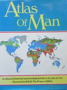 Atlas of Man by Penguin Books Ltd (Hardback, 1987)