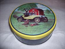Cookie Bear Tin Music Box - Picnic