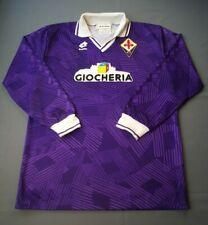 Batistuta Fiorentina Jersey 1991 1992 Match Worn Player Issue L Shirt ig93