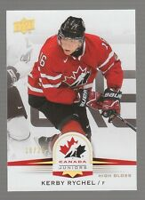 (55194) 2014-15 Upper Deck Team Canada Juniors Kerby Rychel Glossy #88 (18/25)
