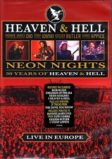 HEAVEN AND HELL - NEON NIGHTS LIVE AT THE WACKEN DVD R1 RONNIE JAMES DIO