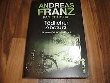 Andreas Franz/D. Holbe -- TÖDLICHER ABSTURZ // Frankfurt-Krimi mit Julia Durant