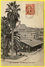 cpa RARE 06 - CANNES (Alpes Maritimes) Le MARCHÉ Couvert HALLES de FORVILLE