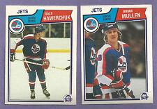 1983-84 OPC O-PEE-CHEE Winnipeg Jets  Team Set