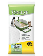 10x Tidy Cats Breeze Litter Pad 4-count Refill Packages Total 40 pads