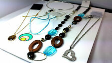 WHOLESALE JOBLOT x100 CARDED ASSORTED FASHION NECKLACES VARIOUS STYLES BRAND NEW