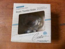Gatco Elite Collection Brush/Tumbler Solid Brass-Chrome/Brass Finish - 5024