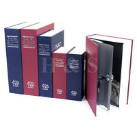 Secret Dictionary Book Travel Safe Security Key Lock Money Cash Jewellery Box