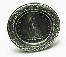 RARE old England silver FROM HONOR & CHIPS 1935 OSTERREICH COIN MENU HOLDER VIRG