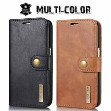 2017 NEW Photo Wallet REAL Leather Flip Case Cover For Samsung Galaxy S8/S8 Plus