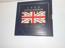 1995 The United Kingdom Brilliant Uncirculated 8 Coin Collection set
