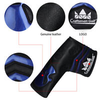 Golf Magnetic Putter Cover Headcover For Scotty Cameron Cleveland Blade Black