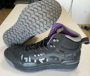 Vans Ultrarange Hi MTE Direct Tech Black Pewter Purple Gore-Tex Men's Size 11.5