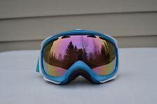 2016 oakley goggles tktm  2016 NWOT OAKLEY A FRAME SNOWBOARD GOGGLES $200 blue pink iridium