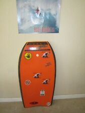 old  MOREY BOOGIE MACH 77 bodyboard /boogieboard ..WITH  MIKE STEWART POSTER!