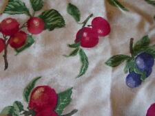 Made In Usa Longaberger Mint in Bag Fruit Medley Small Peg & Chive Basket Liner