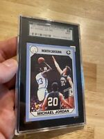 Michael Jordan SGC 8 NM 1990 UNC #61 INVEST Against Inflation Last Dance Goat NR