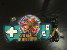 ATARI Wheel of Fortune  Controller 2005 with cables Plug in PLAY Control 1 Game