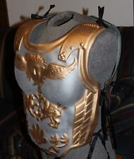 ROMAN GLADIATOR CENTURION SILVER GOLD ARMOR FOR COSTUME 2 PC EASTER PRODUCTION