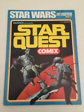"""Star Quest Comix magazine """"Star Wars Revisited"""" (october 1978)"""