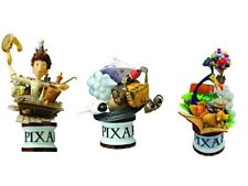 Disney Pixar Square Enix Formation Arts Set Ratatouille, Up And Wall-E FULL CASE