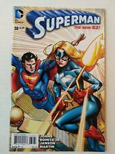 SUPERMAN #38 LEE MODER RETAILER INCENTIVE STARGIRL VARIANT COVER  CBG 1333