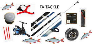 Telescopic Travel/starter kit ,8 ft Rod & Reel Complete Set for Coarse Fishing