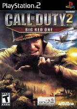 Call of Duty 2: Big Red One - Playstation 2 Game Complete
