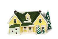 Department 56 Original Snow Village Nantucket Renovation Lighted House 5441-0