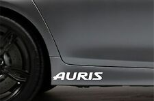 2x Side Skirt Stickers fits Toyota Auris Car Sticker Bodywork Car Decal VK100