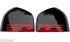 Audi A3 8L S3 Schwarz Rote Rückleuchten S3 Logo Schwarze Heckleuchten S line