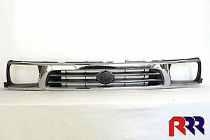 FOR TOYOTA HILUX LN147 2/4WD 10/97-10/01 FRONT GRILLE CHROME-GRAY