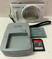 Canon PowerShot SX610 HS 20.2MP Wifi Digital Camera 18x Optical Zoom (White)
