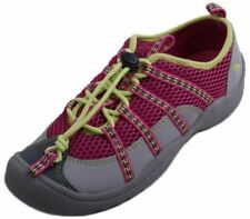 Clarks Jetta Surf Girls Youth Hot Pink Leather/Textile Walking Shoes size 4.5