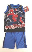 Marvel Ultimate Spider-Man Kids Boys Outfit 2 Piece Set Sizes 3T, 4T NWT