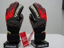 Reusch Soccer Goalie Gloves PRISMA Pro R3 Ortho Tec Finger Stays SZ 9 3870750S
